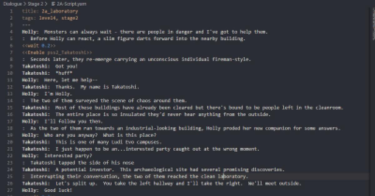 feature image script